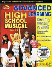 HIGH SCHOOL MUSICAL Reading, Writing & Math Advanced Learning Workbook Ages 9-12