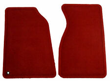 New Floor Mats Oem Factory Mustang Set Front Floormats Red For Ford Mustang
