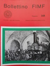 Bollettino treni FIMF n°168 - La Linea del Cenisio - Ferrovia Brescia  [TR.33]