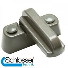 10 x Sash Blocker Jammer-Grigio Fumo-UPVC Door / Window RIDUTTORE LOCK