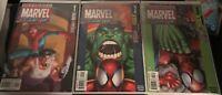 ULTIMATE MARVEL TEAM-UP #1,2 & 3 Spider-man , Wolverine AND Hulk NM gemini ship