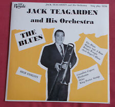 """JACK TEARGARDEN AND HIS ORCHESTRA 25 CM 10"""" ORIG US THE BLUES  ROYALE"""