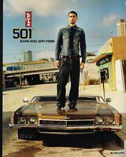 Publicité advertising 2004 Pret à porter Jeans Levi's 501