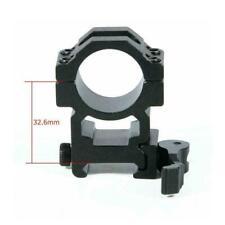 1 Paar Schnellverschluss-Zielfernrohrringe Montage 20 mm Picatinny-Profil