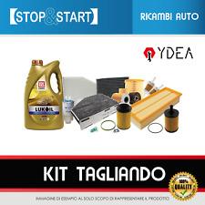 KIT TAGLIANDO FIAT PANDA II 500 II LANCIA Y 1.3 MJ (IMP.PURFLUX) + 4 LT 5W40