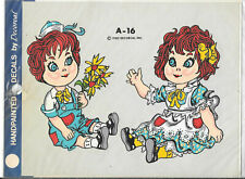 Vintage Handpainted Bread Loaf/'s Decals by Decorcal A-84 New