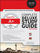 CompTIA A+ Complete Deluxe Study Guide 3rd Edition Quentin Docter Emmett Dulaney