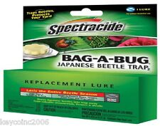 SPECTRACIDE JAPANESE BEETLE TRAP BAG A BUG REPLACEMENT LURE BAIT