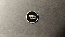 March For Our Lives .999 Fine Silver Rounds One Gram