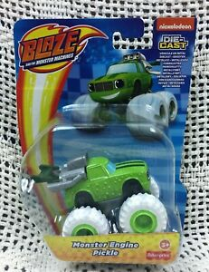 Monster Engine Pickle BLAZE AND THE MONSTER MACHINES Die Cast TRUCK NICKELODEON