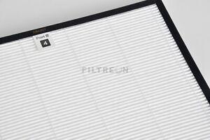 Filtreon HEPA Filter AC4124 Nano Protect für Philips AC4002, AC4004, AC4012