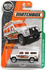 Matchbox 2016 Metal Series LAND ROVER DEFENDER 110 #110/125 White 4x4 Rare New