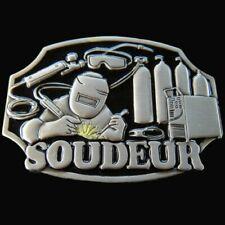 Belt Belts Buckle Boucle Ceinture Soudeur French Welder Welding Tool Equipment