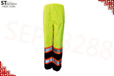 Hi Vis Insulated Safety Reflective Pants Road Work HIGH VISIBILITY ANSI Class 2