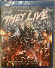They Live (Blu-ray Disc, 2012, Scream Factory Collector's Edition) brand new