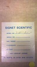 SIGNET Conductivity Sensor 3-2800-D00.2
