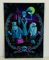 Disney WonderGround Going Our Way Haunted Mansion Postcard by Jeff Granito New