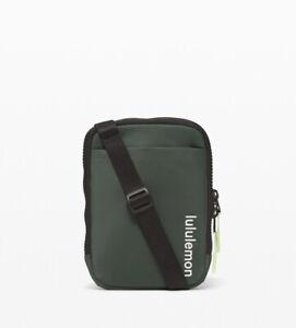 NWT Lululemon Easy Access Crossbody Bag ~ Smoked Spruce (Olive Green)