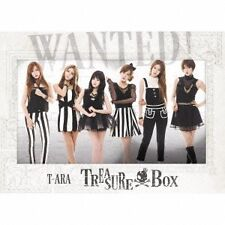 USED T-Ara - Treasure Box Sphire Version (CD+DVD+SUP) [Japan CD] TOCT-29181 CD