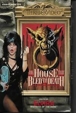 The House That Bled Death Elvira Mistress of the Dark VHS 1982 (Played Once)