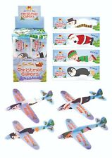 Christmas Flying Gliders, Xmas Kids Stocking Fillers, Kids Toy Planes 3 6 12 24