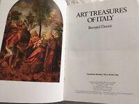 Art Treasures of Italy  Benard Denvir Hardcover Book Orbis Publishing 1980