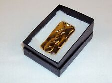 Money Clip ~ Collar Shirt & Tie Design  Polished Gold Metal  NEW #5320200