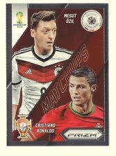 Ozil/Ronaldo 2014 PRIZM WORLD CUP MATCHUPS 15 ARSENAL/REAL MADRID