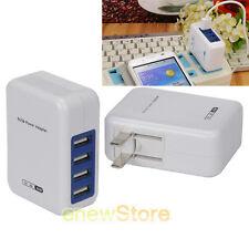 Ennotek Multi Puerto 4 USB Cargador De Pared EU UK nos adaptador de viaje AU Enchufes Portátil