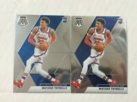 MATISSE THYBULLE LOT OF 2 2019-20 Panini Mosaic ROOKIE BASE RC's #245! 76ERS!