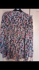 Claudie Pierlot Diseñador Floral Blusa Prenda para el torso