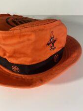 Miller Lite Baltimore Orioles Baseball Orange Floppy Bucket Hat A3858