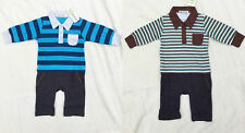 CLEARANCE ! TWO NEW PIECES PACKAGE Newborn Baby Boy One-piece Romper 18M