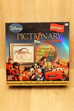 Mattel - Jeu de société amusant - Pictionary Dvd Disney - occasion - complet