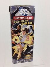 DC Heroclix Collateral Damage Booster Pack WZK4215 4 Figures & Game CardNEW