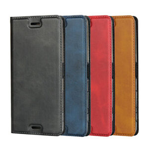 For Sony X Performance Magnetic Leather Phone Case Protector Flip Wallet