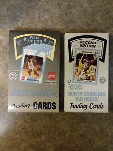 1989 North Carolina First and Second Edition Hobby Box Packs Michael Jordan