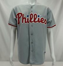 Vintage Majestic Philadelphia Phillies  Baseball Jersey Men's MLB Grey Medium