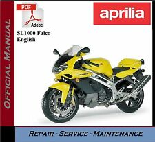 Aprilia SL1000 Falco Workshop Service Repair Manual + Parts Catalogue