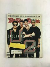 November 1991 Rolling Stone Magazine U2 Achtung Baby Sex and Death in Bangkok