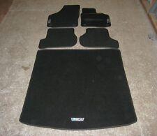 Car Mats in Black to fit Skoda Octavia (2004-2013) + Boot Mat + New VRS Logos