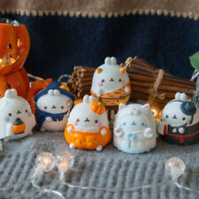 "Molang 2"" Mini Figure Halloween Special 6 Completed Set Box Collectible Cute Toy"