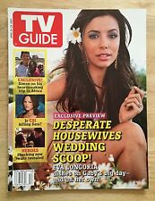 EVA LONGORIA TV GUIDE Magazine April 23-29 2007 NO LABEL NEAR MINT