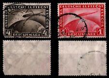 Lot ALLEMAGNE : Poste Aérienne n°35 & 37, Oblitérés = Cote 90 €