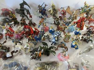 PAPO Toy Action figures FANTASY DRAGONS KNIGHTS ELVES (Ideal Christmas Gifts)