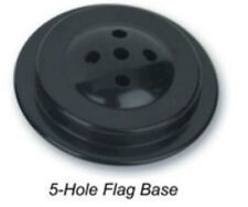 Wholesale Lot 12 Five Hole Black Base For Desk Set Table Stick Flags