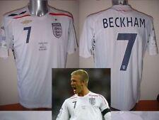 England BNWOT BECKHAM Brazil Wembley M L XL Shirt Jersey Football Soccer Umbro