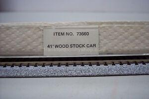 Bachmann N #73660S scale  Santa Fe 41' wood stock car road #94134