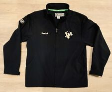 Mens Reebok Pittsburgh Penguins Center Ice Collection Soft Shell Jacket *Size L*