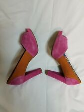 Pink and Orange Hush Puppies shoes women size 9 US